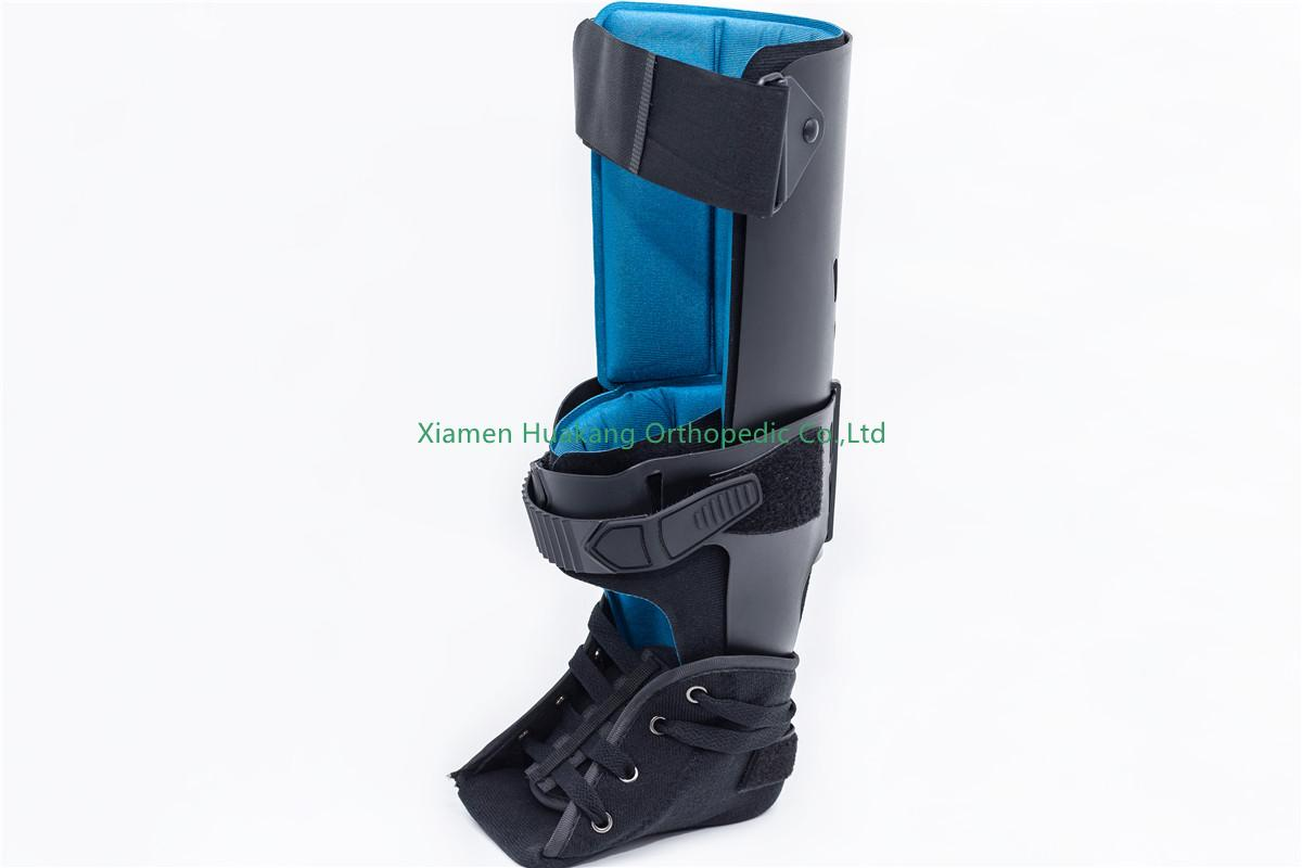 ankle foot orthosis with support panel