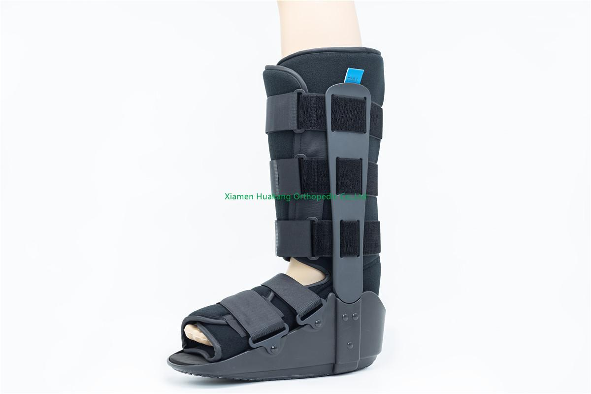 "Tall 17"" Poly foam walking boot removable"