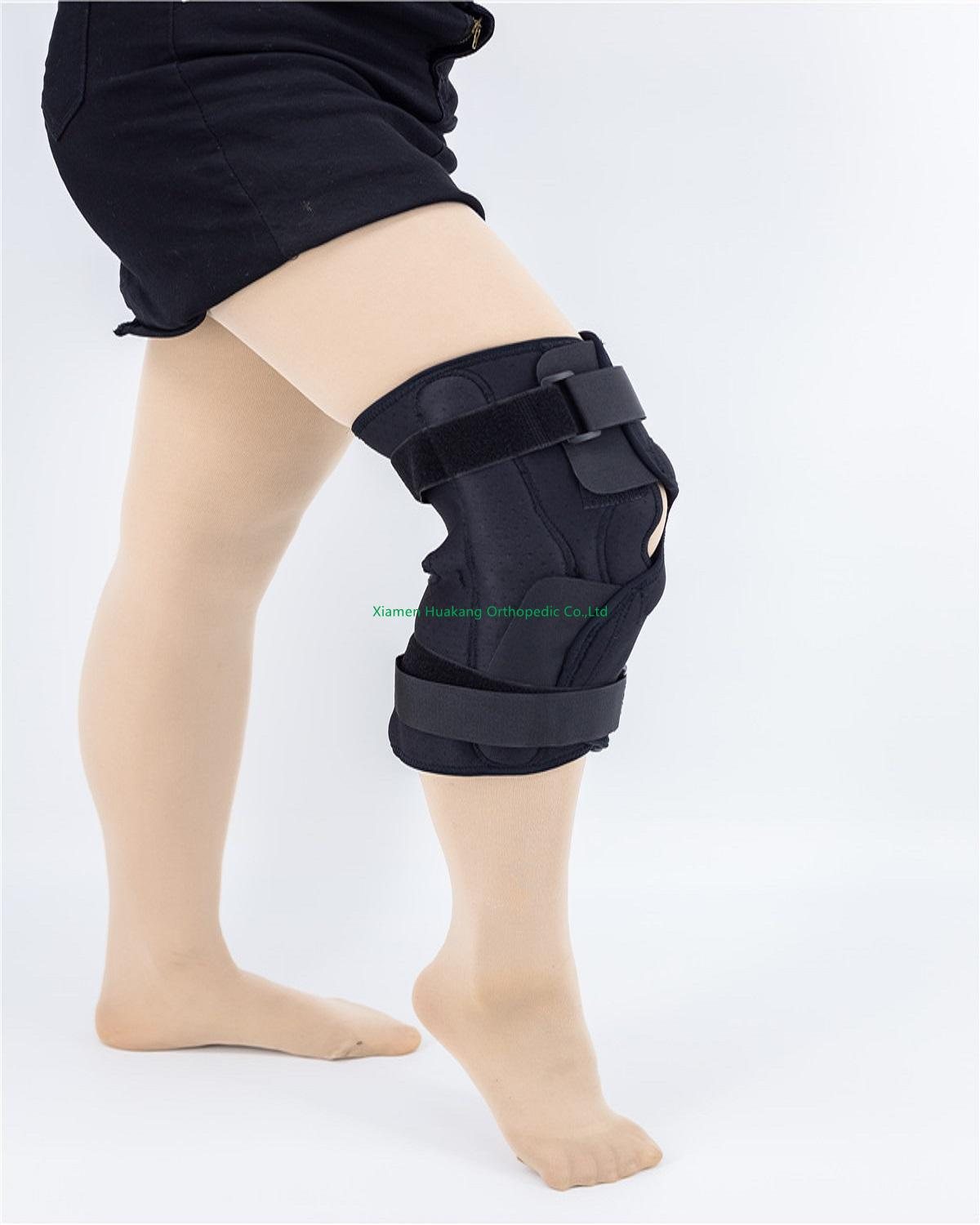 DOUBLE HINGED KNEE SLEEVES ALUMINUM STAYS