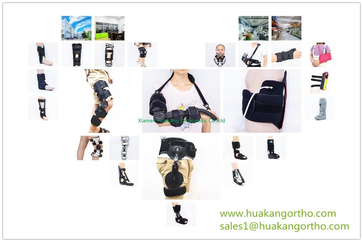 SPINAL BACK BRACE KNEE IMMOBILIZER